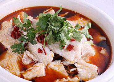 Flounder Filet Spicy Soup