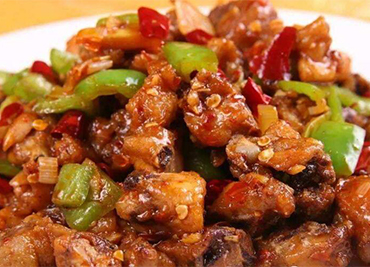 Chicken With chili Pepper