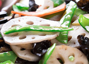 Lotus Root with Mix Vegetable
